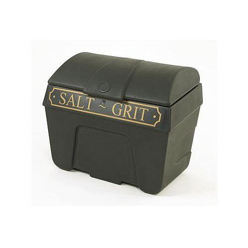 Victoriana Salt And Grit Bin Without Hopper Feed With Locking Lid 200L Capacity