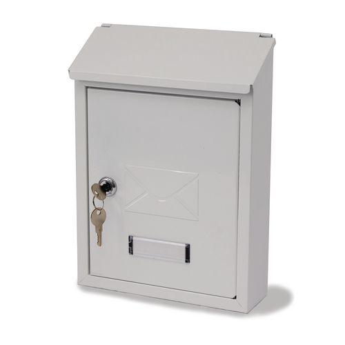 Basic Post Box White