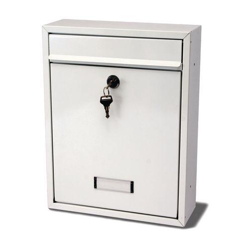 Large Modular Post Box White