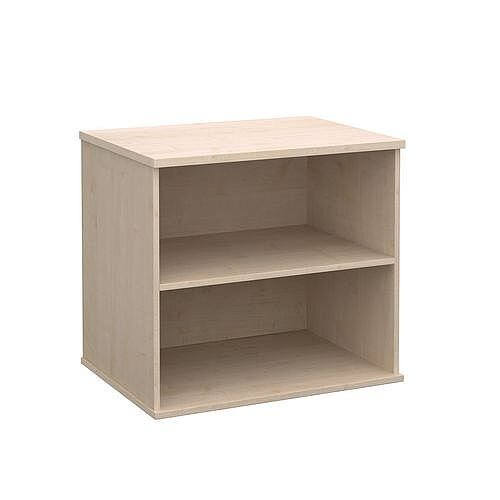 Office Desk High Bookcase Maple