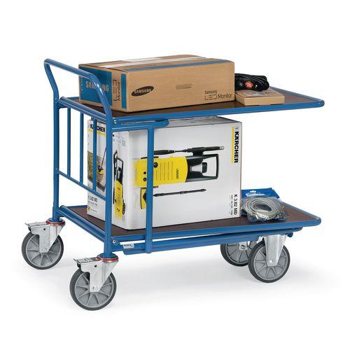 Double Deck Cash &Carry Trolley Platform Capacity 400kg LxW 850x500mm