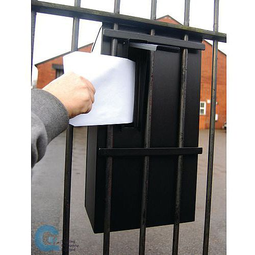 Gate/Railing Post Box