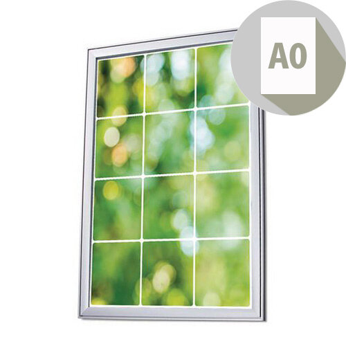 Premium Wall Mounted Poster Snapframe A0