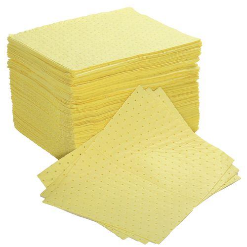 Sorbent Pad Chemical Capacity 85L Dimensions: WxLmm: 400x500 Pack of 200