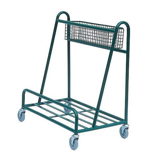 Open Deck Board Trolley With Basket Capacity 200kg  LxWxH  865x485x965mm
