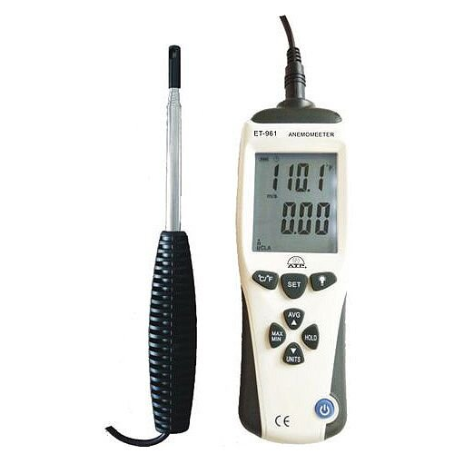 Hot Wire Thermo-Anenometer