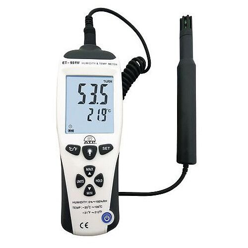 Hi-Accuracy Thermo-Hygrometer With Dew Point &Wet Bulb