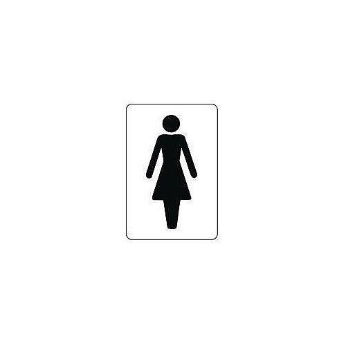 Sign Ladies 100x75 Vinyl