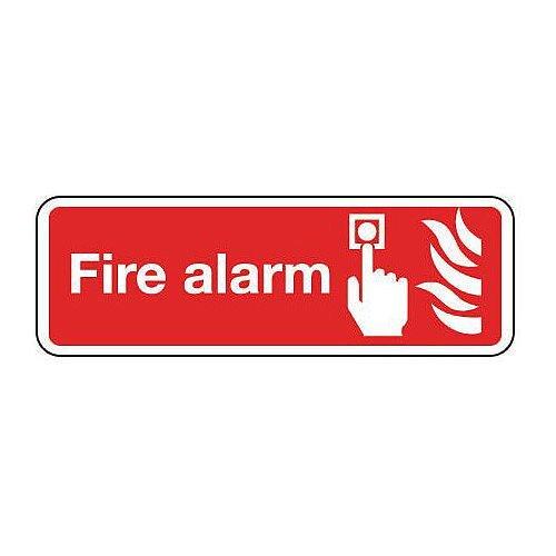 PVC Fire Alarm Sign