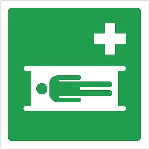 PVC Safe Condition And First Aid Sign First Aid Bed