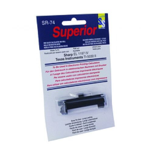 Calculator Ink Roller Black IR74