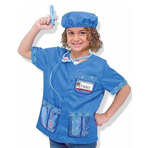 Veterinarian Kids Costume 3-6 Years