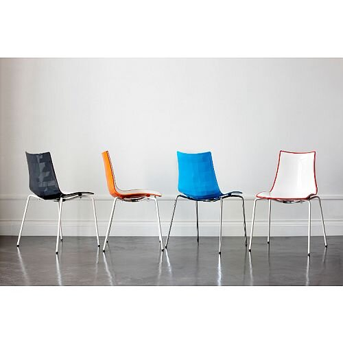 Zebra Bicolore Canteen &Breakout Chairs &Stools