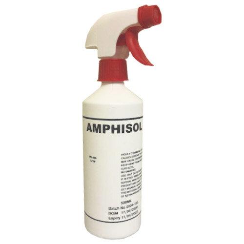 Amphisol-70 Non Sterile Isopropyl Alcohol 70% Disinfectant 500ml Spray
