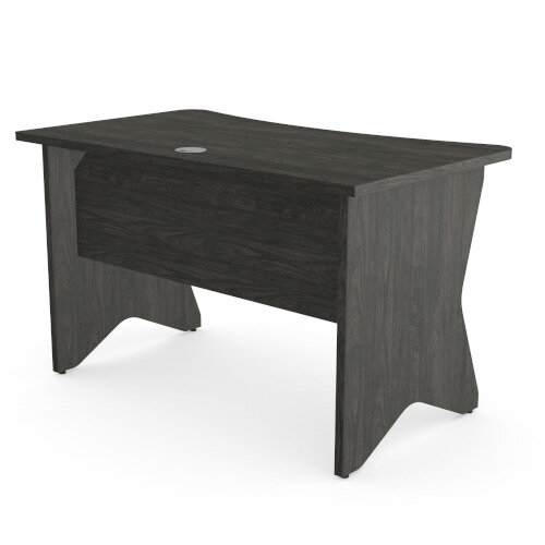 Medici Home Office Desk Carbon Walnut W1200xD700mm