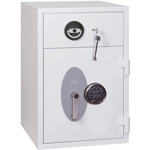 Phoenix Diamond Deposit Hs1090ed 44l Security Safe With Electronic Lock White Hunt Office Ireland