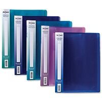 Snopake Electra 24 Pocket Display Books A4 Assorted Pack 10