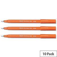 Pentel S570 Ultra Fine Blue Fineliner Pen 0.3mm Line Pack 12