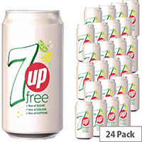 7UP Light Soft Drink Can 330ml [Pack 24]