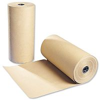 Kraft Paper Strong Thick for Packaging Roll 70gsm 500mmx300m Brown
