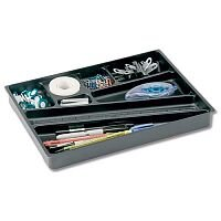 Smead Catch-All Insert Drawer Organizer Plastic Black