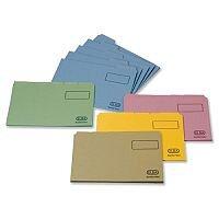 Elba Tabbed Folder Foolscap Pink 20617 Pack 100