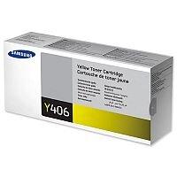 Samsung CLT-Y406S Yellow Laser Toner Cartridge
