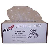 Robinson Young Safewrap Shredder Bags 40 Litre Pack 100