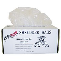 Robinson Young Safewrap Shredder Bags 100 Litre Pack 50