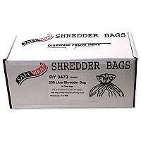 Robinson Young Safewrap Shredder Bags 200 Litre Pack 50