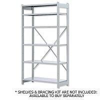 Bisley Shelving Starter Bay Metal Extra Depth 1018ESSTK40