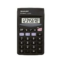 Sharp EL233SBK Calculator Pocket Ref EL233SBK