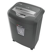 Rexel REM820 High Security Micro Cut Paper Shredder P-5 Security Level - Shred one sheet of paper into 250 pieces.  Also shreds staples, paperclips, CDs and credit cards.  21 litre, Easy to empty bin.