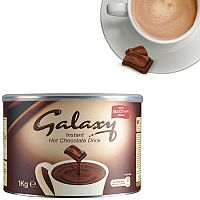Galaxy Instant Hot Drinking Chocolate Powder Tin 1kg Pack of 1 A01950