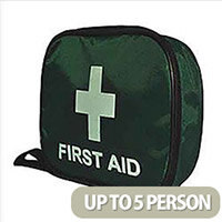 Wallace Cameron BS 8599-2 Compliant First Aid Travel Kit Small Up to 5 Person Ref 1020208