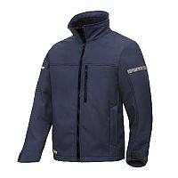 Snickers 1201 AllroundWork, Softshell Jacket Size S Navy/Black