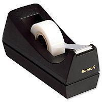 Scotch C38 Magic Tape Dispenser Desktop with 3 Rolls 19mmx33m Ref 9-1933R3C