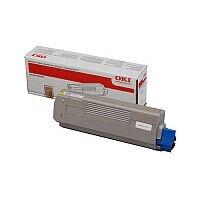 Oki MC861 Laser Toner Cartridge Page Life 10000pp Yellow Ref 44059253
