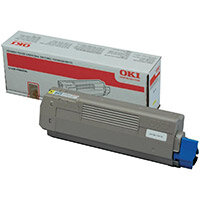 OKI Yellow Toner Cartridge Yield: 6,000 Pages for A4 Colour Printers