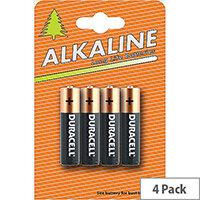 Duracell Plus Power Battery Alkaline AAA Ref AAADURC [Pack 4]