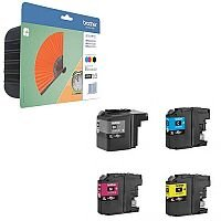 Brother LC129XL / LC125XL High Capacity 4 Colour Ink Cartridge Multipack LC129XLVALBP