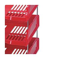 Esselte Riser for Transit Letter Tray Set of 4 Pack of 20 Sets Ref 15658