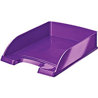 Leitz WOW Letter Tray Purple Ref 52260062