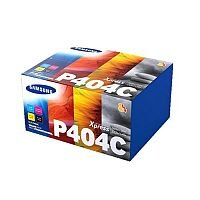 Samsung P404C 4 Colour Toner Value Pack (Black, Cyan, Magenta, Yellow) for Xpress SL-C43x/SL-C48x Series Laser Printers CLTP404CELS