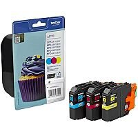 Brother LC123 Tri-Colour Ink Cartridge LC123RBWBP