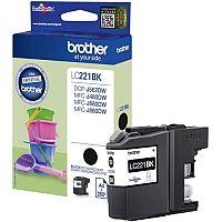 Brother LC221BK Inkjet Black Cartridge