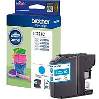Brother LC221C Cyan Inkjet Cartridge