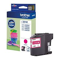 Brother LC221M Magenta Inkjet Cartridge