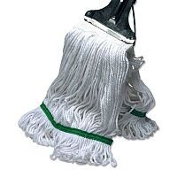 Kentucky Colour Coded Replacement Looped Mop Head 450gm Green