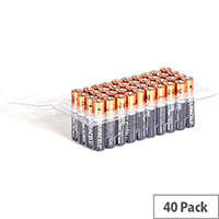 Duracell AAA Alkaline Batteries Pack of 40
